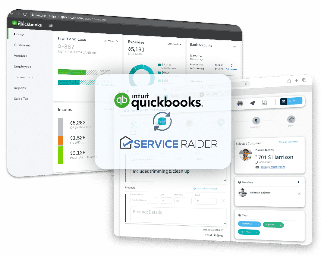 field service software quickbooks